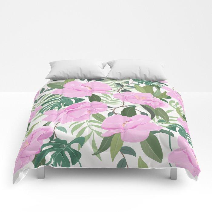 Soft Garden Comforters
