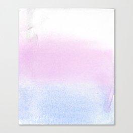 Trans Watercolor Wash Canvas Print
