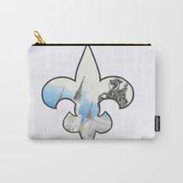 Fleur De Lis Jackson Square Carry-All Pouch