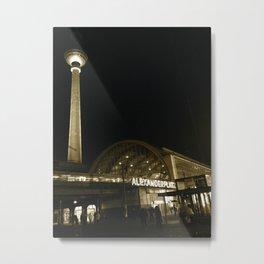 Alexanderplatz Metal Print