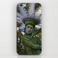 flower man iPhone & iPod Skin