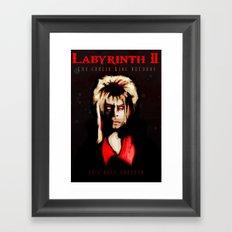 Return Of The Goblin King Framed Art Print