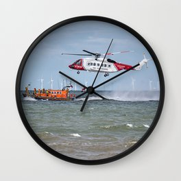Rhyl Air Sea Rescue Wall Clock
