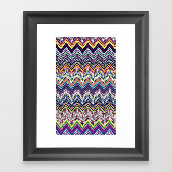 blast of summer Framed Art Print