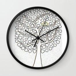 Poster Wedding Guest Book Wall Clock