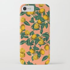 Lemon and Leaf Slim Case iPhone 7