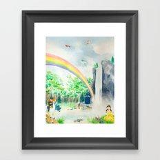 Misadventures in Dreamland Framed Art Print