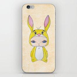 A Boy - Rabbit (coco lapin) iPhone Skin