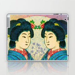 2 Geishas Laptop & iPad Skin