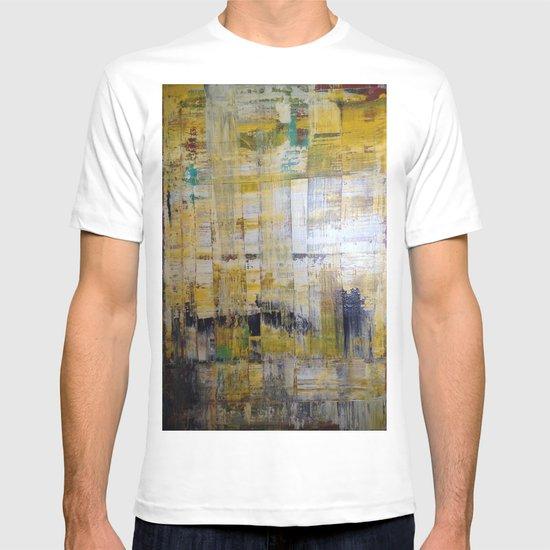 YELLOW SCRAPE T-shirt