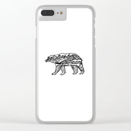 Bear Necessities Clear iPhone Case