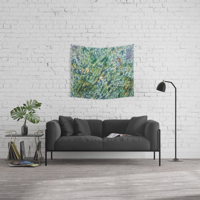 Ocean Life Abstract Wall Tapestry