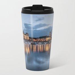 Dresden skyline, City, Germany, Cityscape blue hour Travel Mug