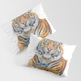 Too Early Tiger Pillow Sham