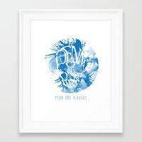 pirates Framed Art Prints featuring Pirates by Ethan Pollard