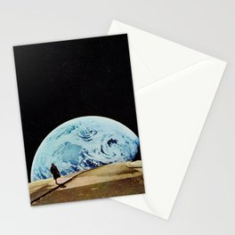 Moon walking Stationery Cards