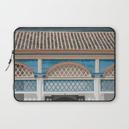 Colorful roofs and walls in Marrakech | Bahia Palace | Travel Photography | Print Art Laptop Sleeve