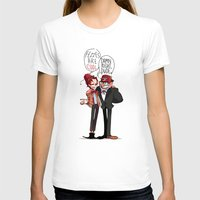 fez T-shirts featuring Fez Bros by M-chi