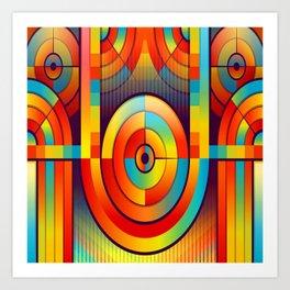 Cyrcle Trip Art Print