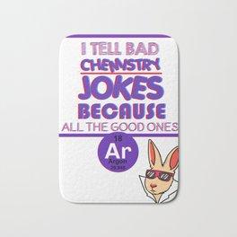chemistry chemist gift substances substances funny Bath Mat