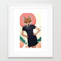 polkadot Framed Art Prints featuring Polkadot by Hagara Stuff