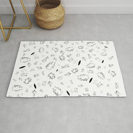 Cocrodile Collage Rug