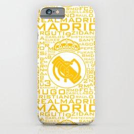 MixWords: R.Madrid iPhone Case
