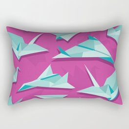 planes and cranes Rectangular Pillow