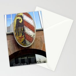 Nuremberg Small Coat of Arms Stationery Cards