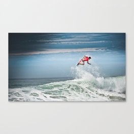 Julian Wilson Surfing  Canvas Print