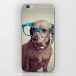 Dogs think they're sooo smart... iPhone Skin