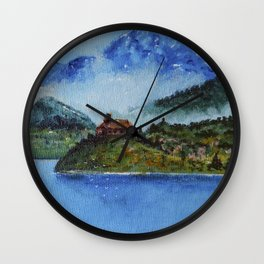 The House of the Ancestors Wall Clock