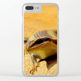 """Friendly Fellow"" by ICA PAVON Clear iPhone Case"