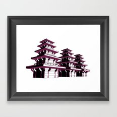 Pagoda Framed Art Print