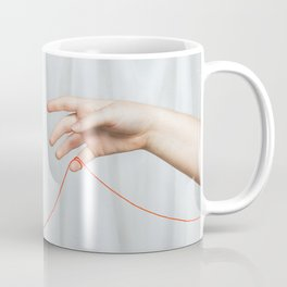 red string of fate Coffee Mug