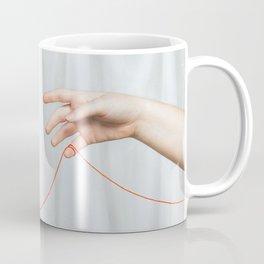 red string of fate Coffee Mug