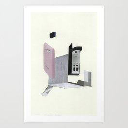 Compound Refrigerator Art Print