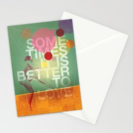Sometimes it is Better To Love Stationery Cards