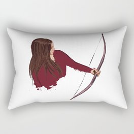 Bow Rectangular Pillow