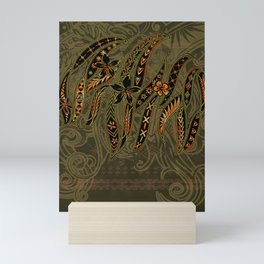 Samoan Malu Mana Motif - Polynesian designs Mini Art Print
