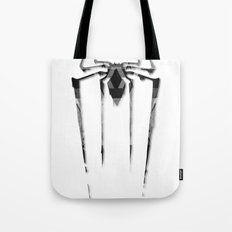 Amazing Spiderman B/W Tote Bag