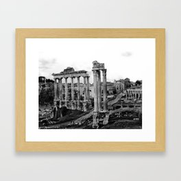 Roman Forum Framed Art Print