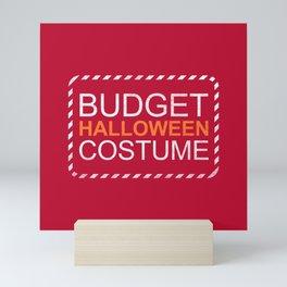 Budget Halloween Mini Art Print