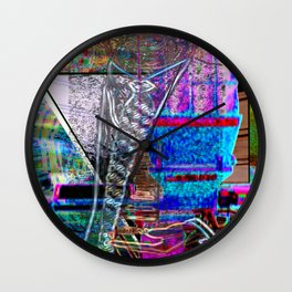 """The Only """"Real"""" """"Good"""" That Came From The Sex Pistols... [A Simple Constraint Series] Wall Clock"""