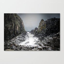 Between the Rocks Canvas Print