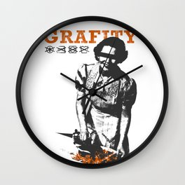 The Housewife Wall Clock