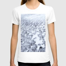 Footprints in the Melting Snow at Whistler T-shirt