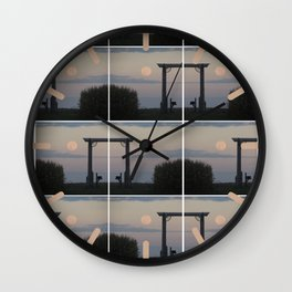 Ne Obliviscaris - Of Petrichor Weaves Black Noise Wall Clock