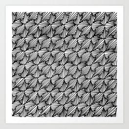 Zentangle Paradox  Art Print