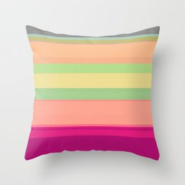 a beautifully corrupted file Throw Pillow